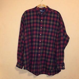 Ralph Lauren Flannel Dress Shirt